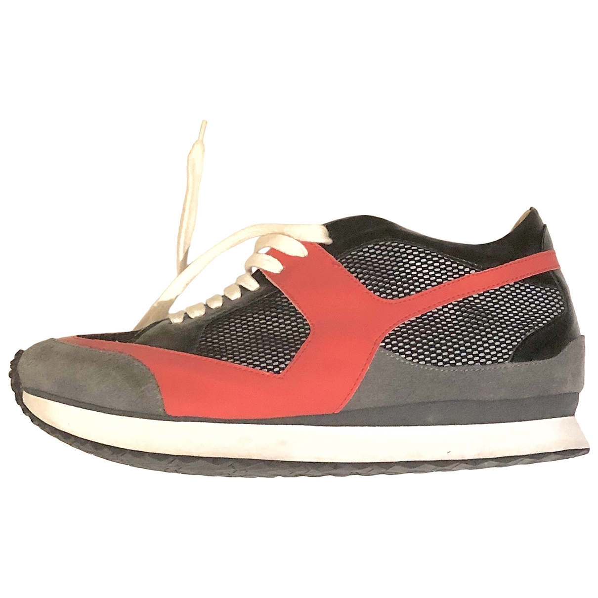Mm6 \N Black Leather Trainers for Men 40 EU