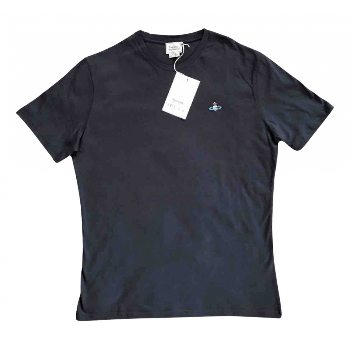 Vivienne Westwood N Blue Cotton T-shirts for Men XL International