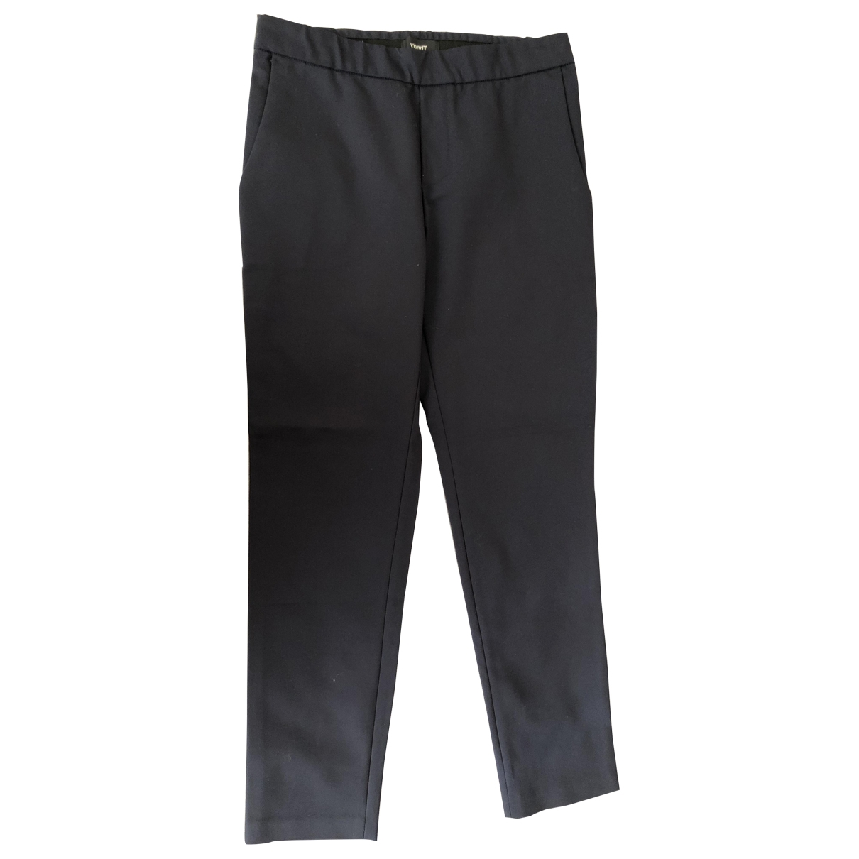 Theory \N Blue Cotton Trousers for Women 2 US