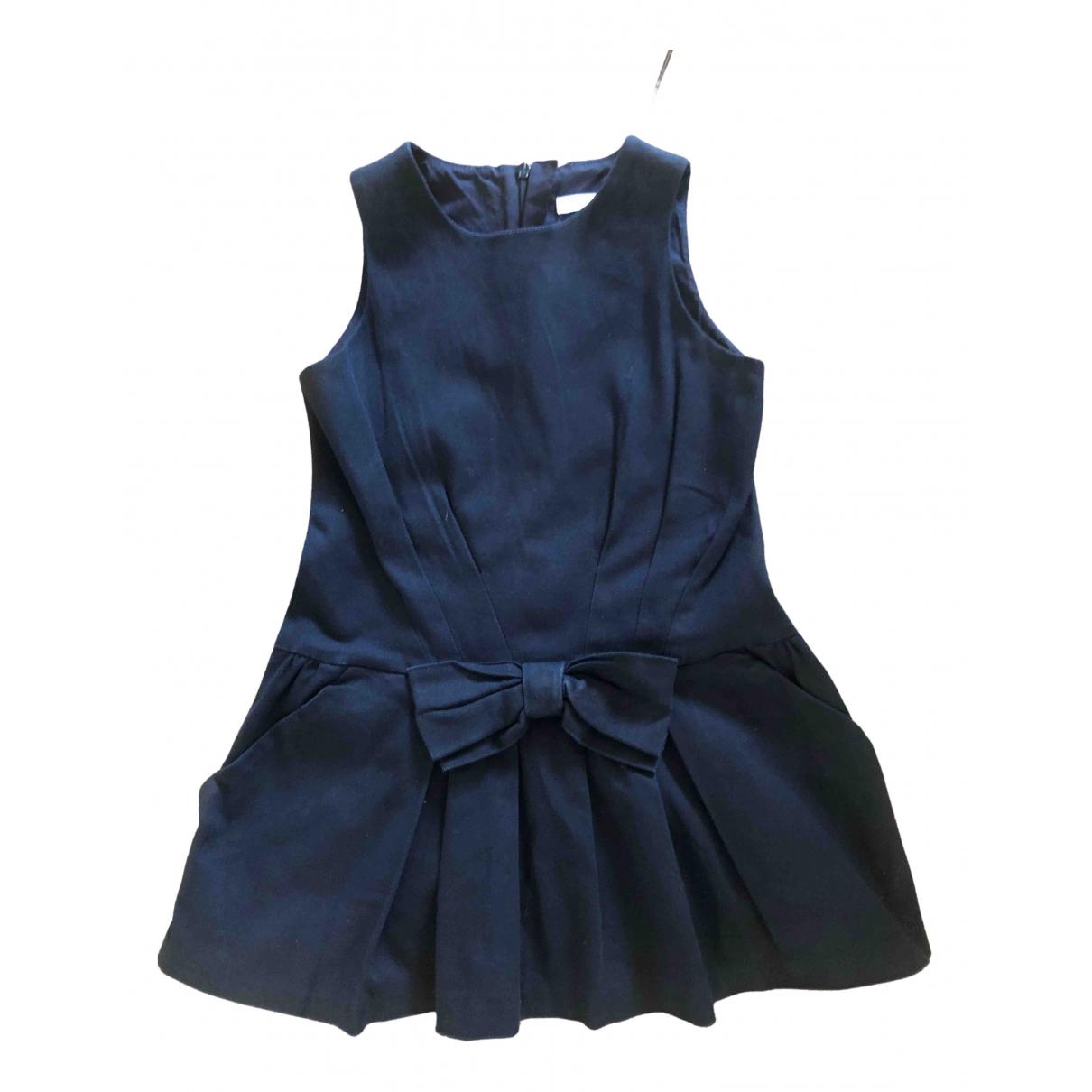 Chloe \N Kleid in  Blau Baumwolle - Elasthan
