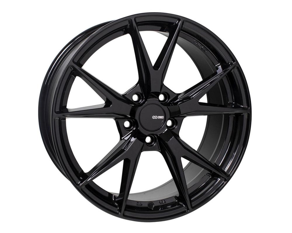 Enkei PHOENIX Wheel Performance Series Gloss Black 17x7.5 5x100 45mm
