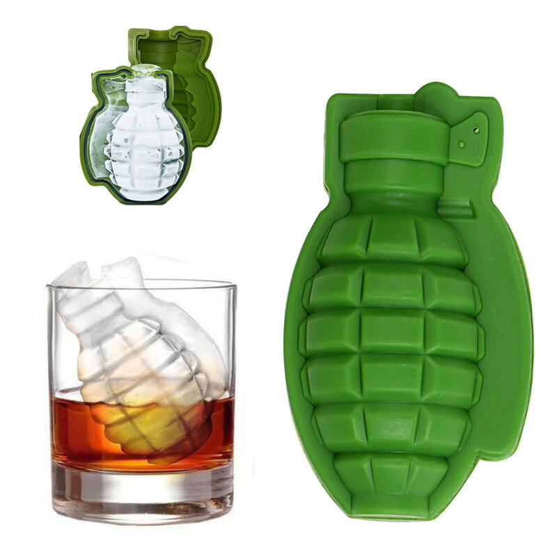 Grenade Model Silicone Baking Mold Silicone Ice Tray Mold