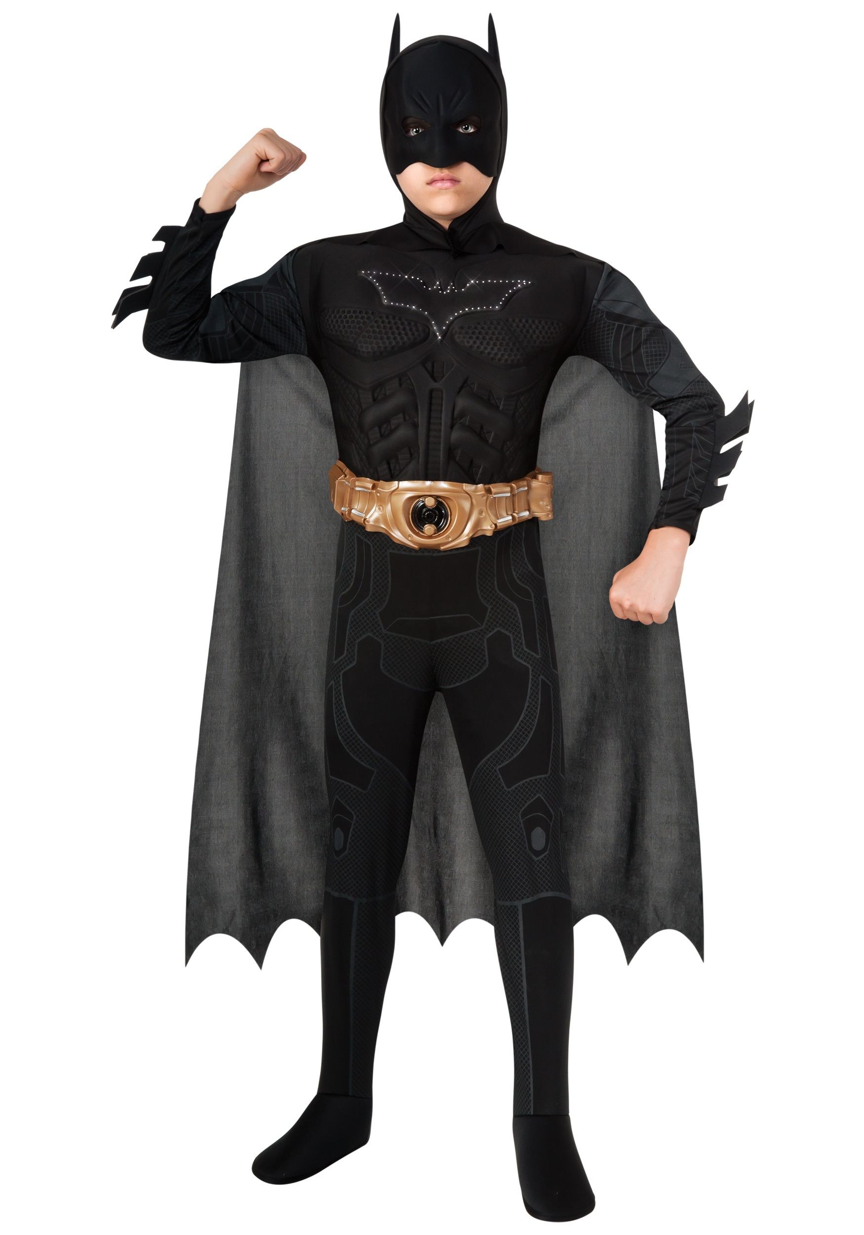 Light Up Dark Knight Rises Boys Batman Costume