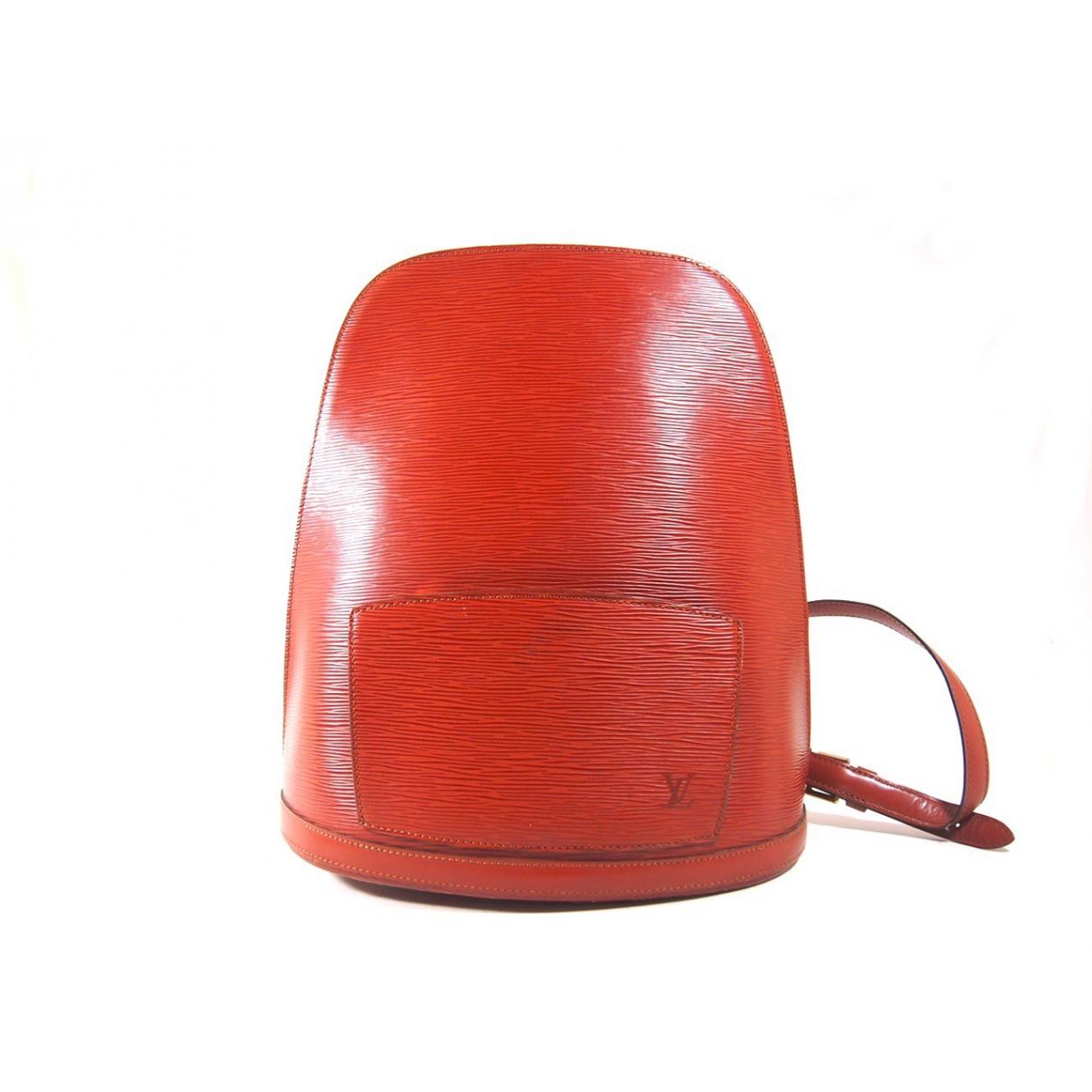 Louis Vuitton - Sac a dos   pour femme en cuir