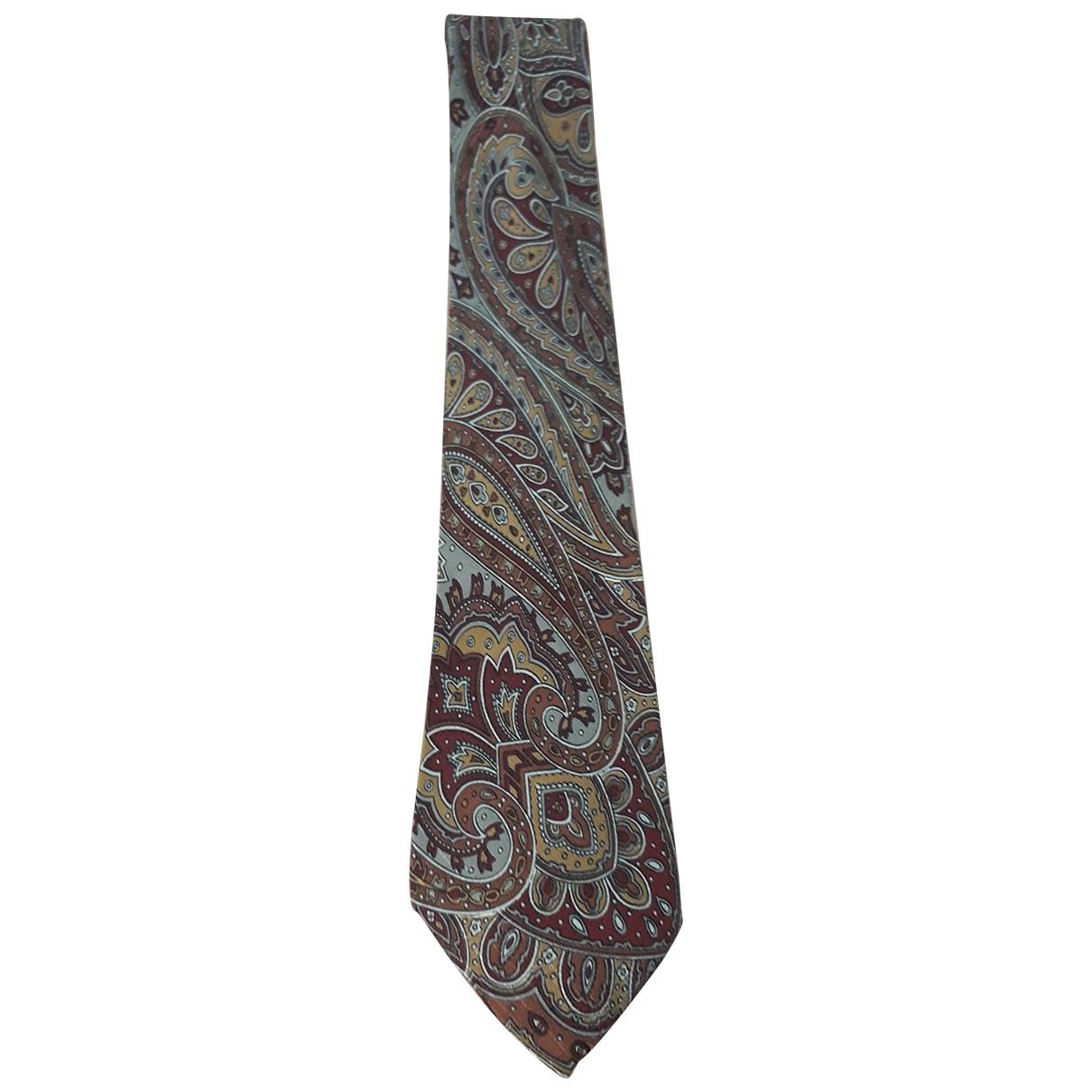 Giorgio Armani \N Brown Silk Ties for Men \N