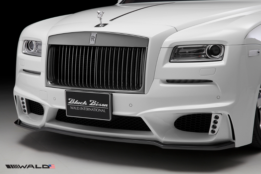 Wald USA RRW.FB.14 Black Bison Edition Front Bumper Rolls Royce Wraith Series I 14-16