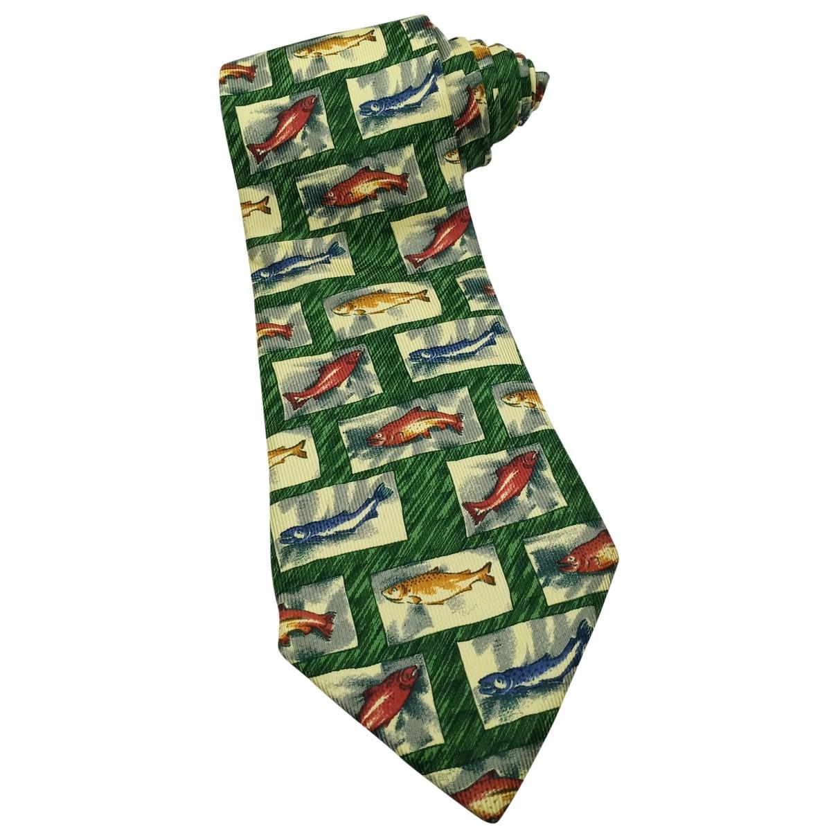 Aquascutum \N Multicolour Silk Ties for Men \N