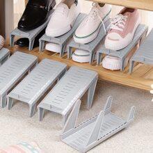 1 Stueck Verstellbares Aufbewahrungsregal fuer Schuhe