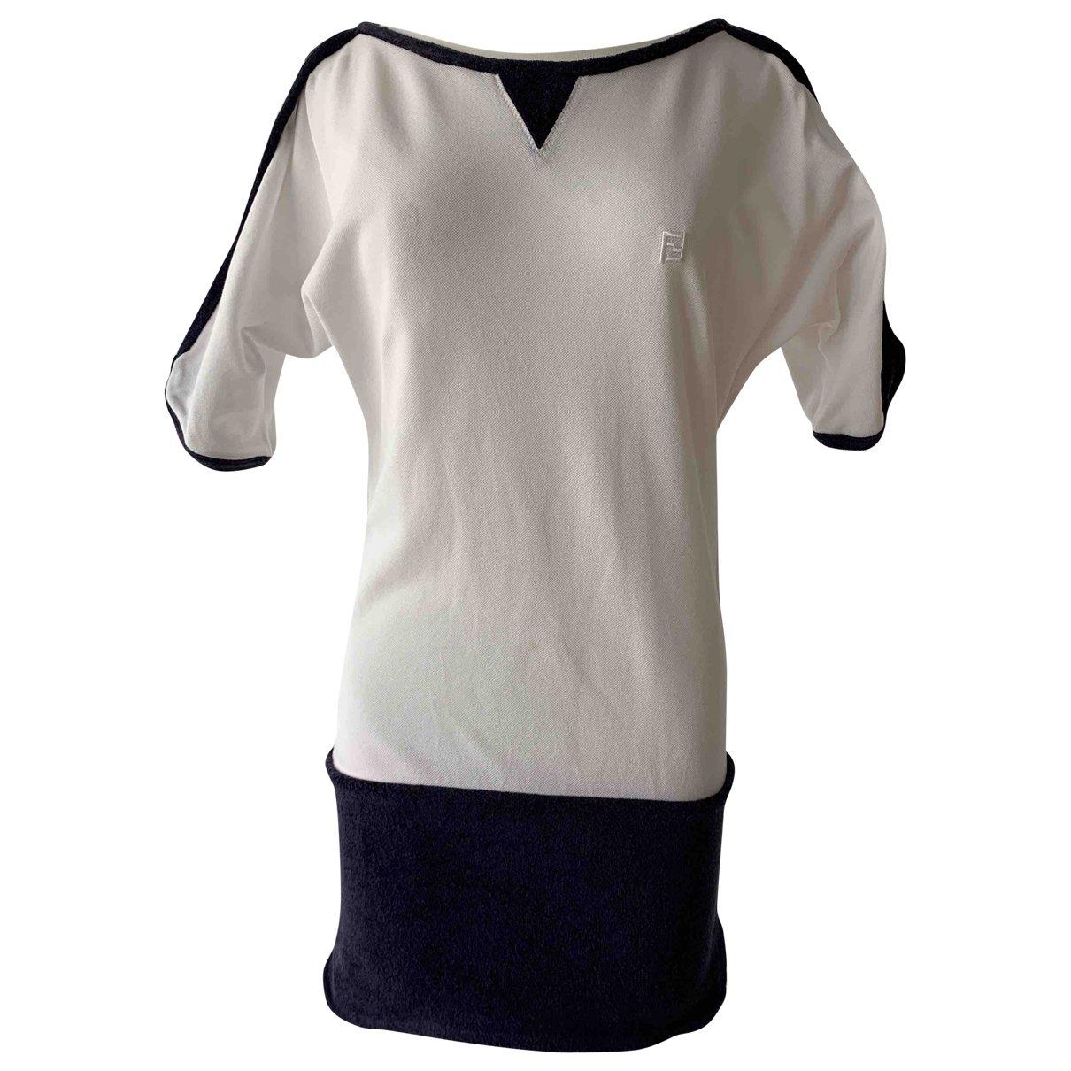 Fendi \N White Cotton dress for Women 38 IT