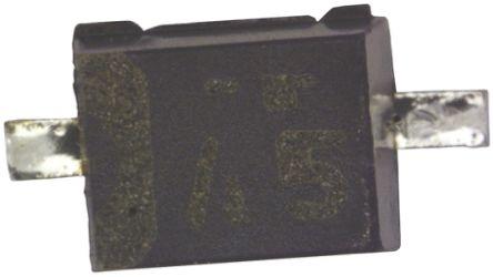 ROHM , 5.6V Zener Diode 2% 200 mW SMT 2-Pin SOD-323F (100)