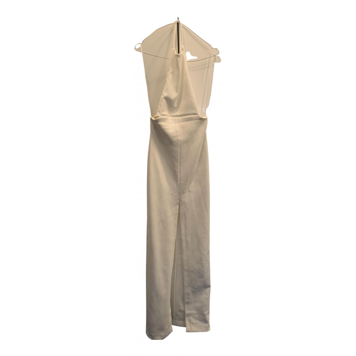 Solace London \N Kleid in  Weiss Viskose