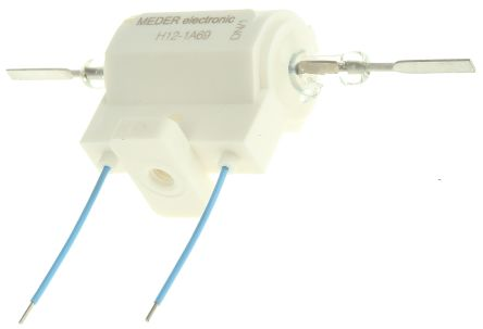 Meder H series SPNO reed relay,3A 12Vdc coil