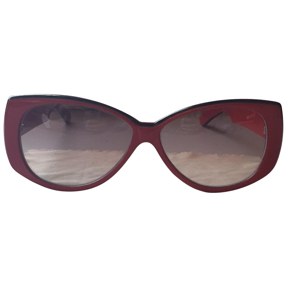 Non Signe / Unsigned \N Sonnenbrillen Rot