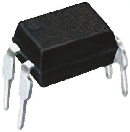 Vishay , K814P AC Input Phototransistor Output Optocoupler, Through Hole, 4-Pin DIP (50)