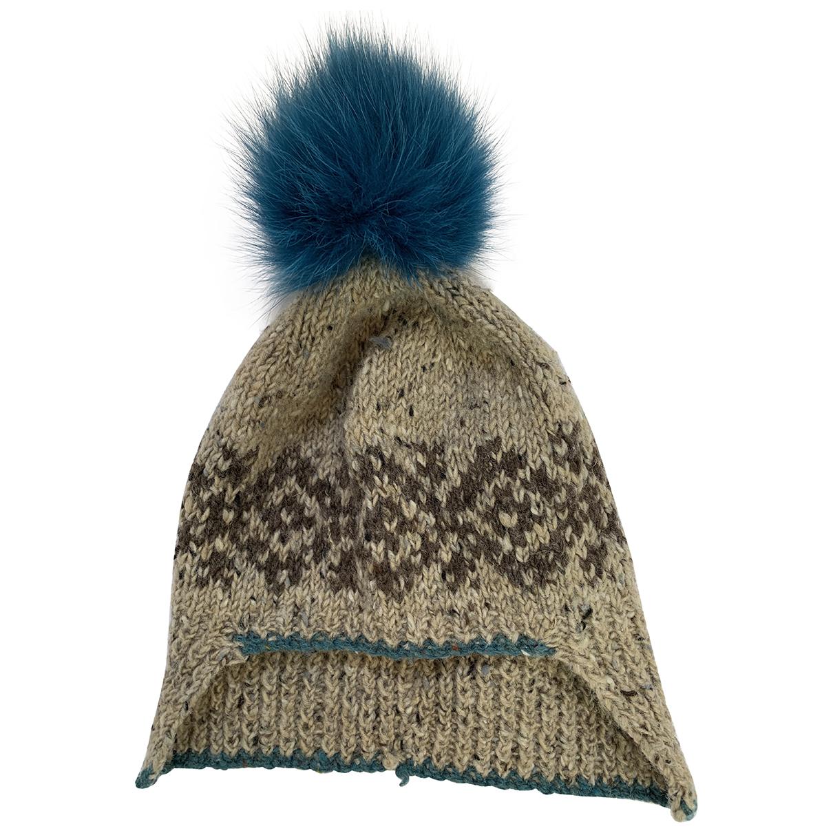 Paul Smith - Chapeau   pour femme en laine - marron