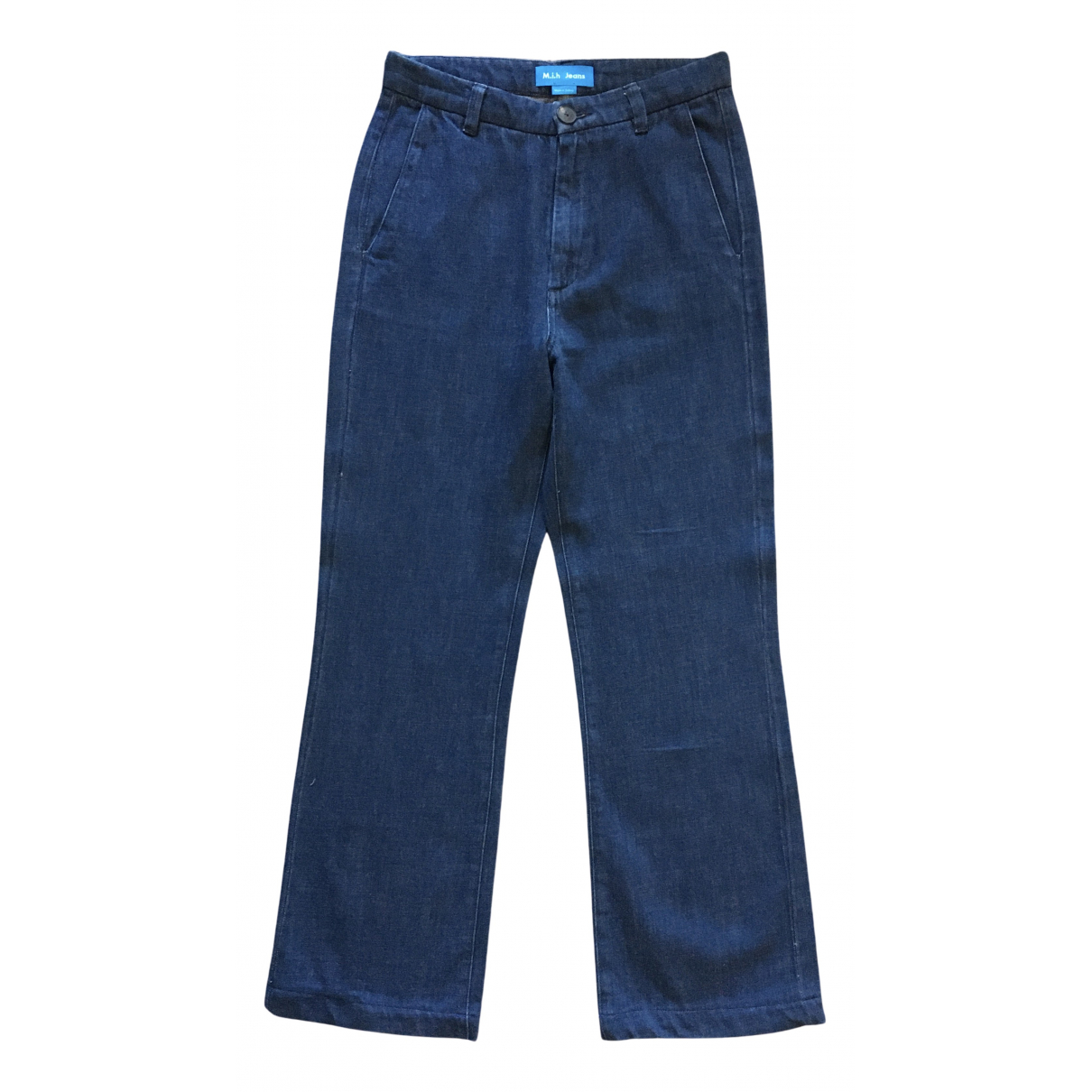 Mih Jeans N Blue Cotton Jeans for Women 28 US