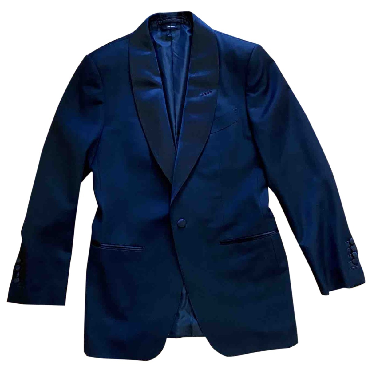 Tom Ford \N Black Wool Suits for Men 48 IT