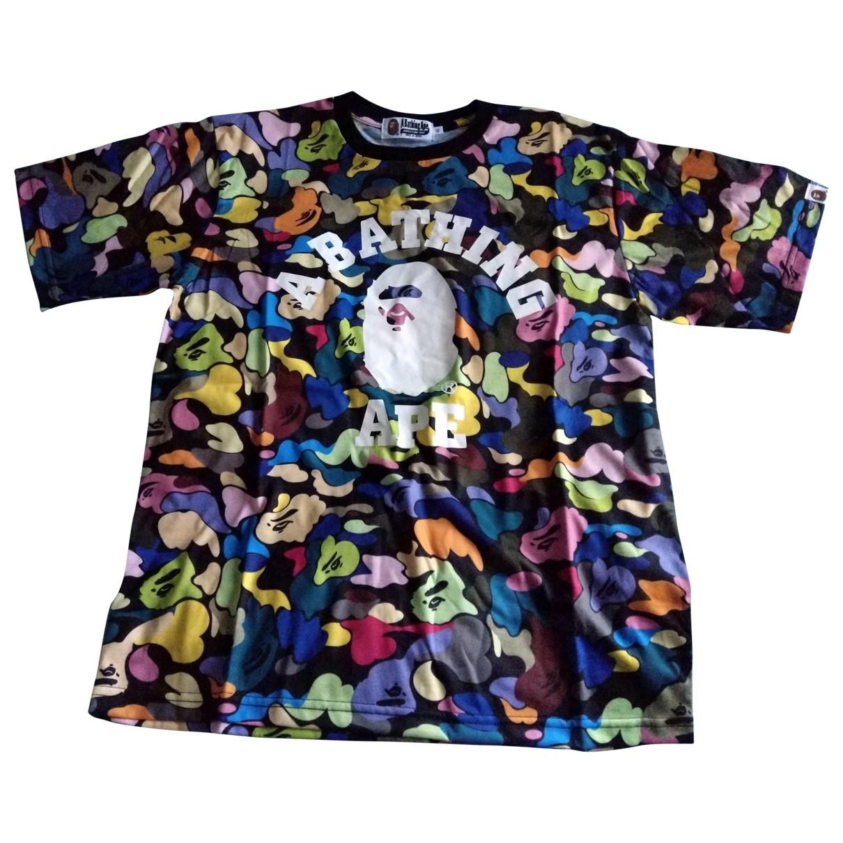 A Bathing Ape - Tee shirts   pour homme en coton - multicolore