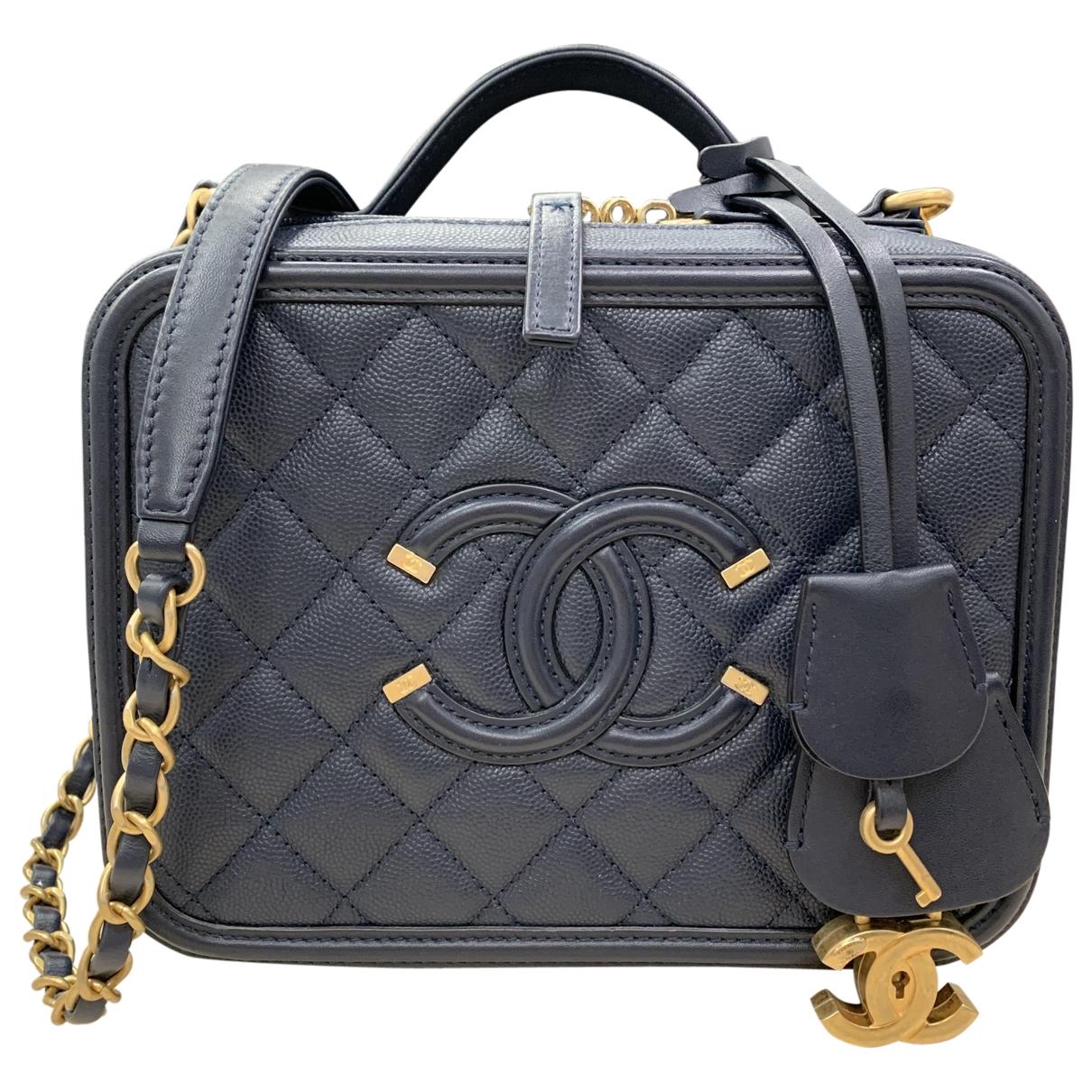 Bolso  Vanity de Cuero Chanel