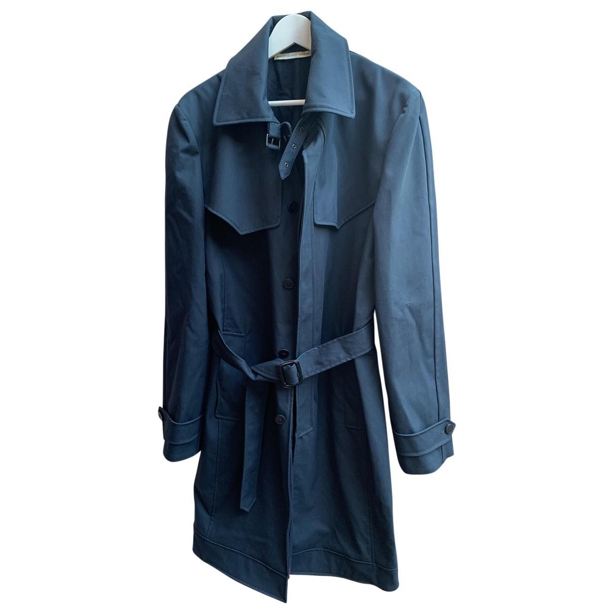 Balenciaga - Manteau   pour homme - bleu