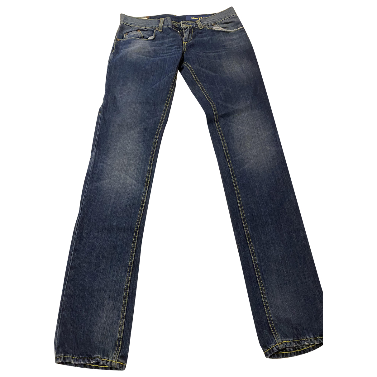 Dondup \N Blue Cotton - elasthane Jeans for Women 28 US