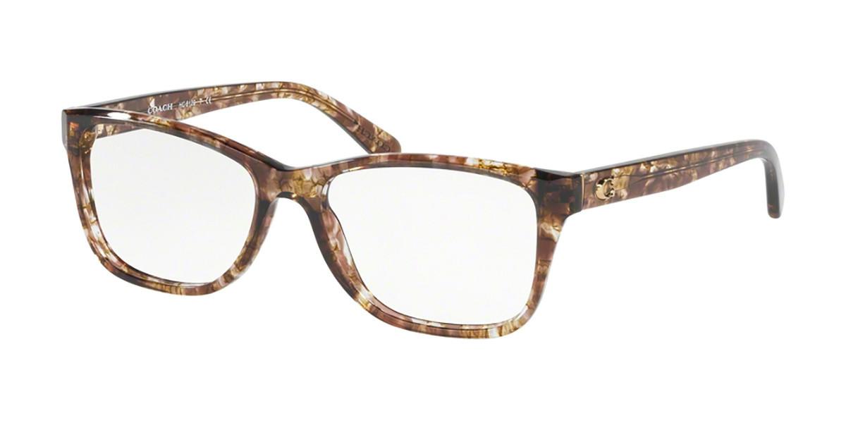 Coach HC6129 5562 Women's Glasses Tortoise Size 52 - Free Lenses - HSA/FSA Insurance - Blue Light Block Available