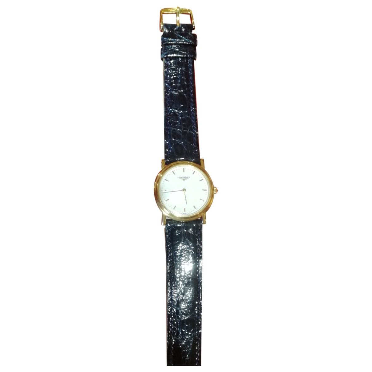 Longines \N Uhr in  Weiss Gelbgold