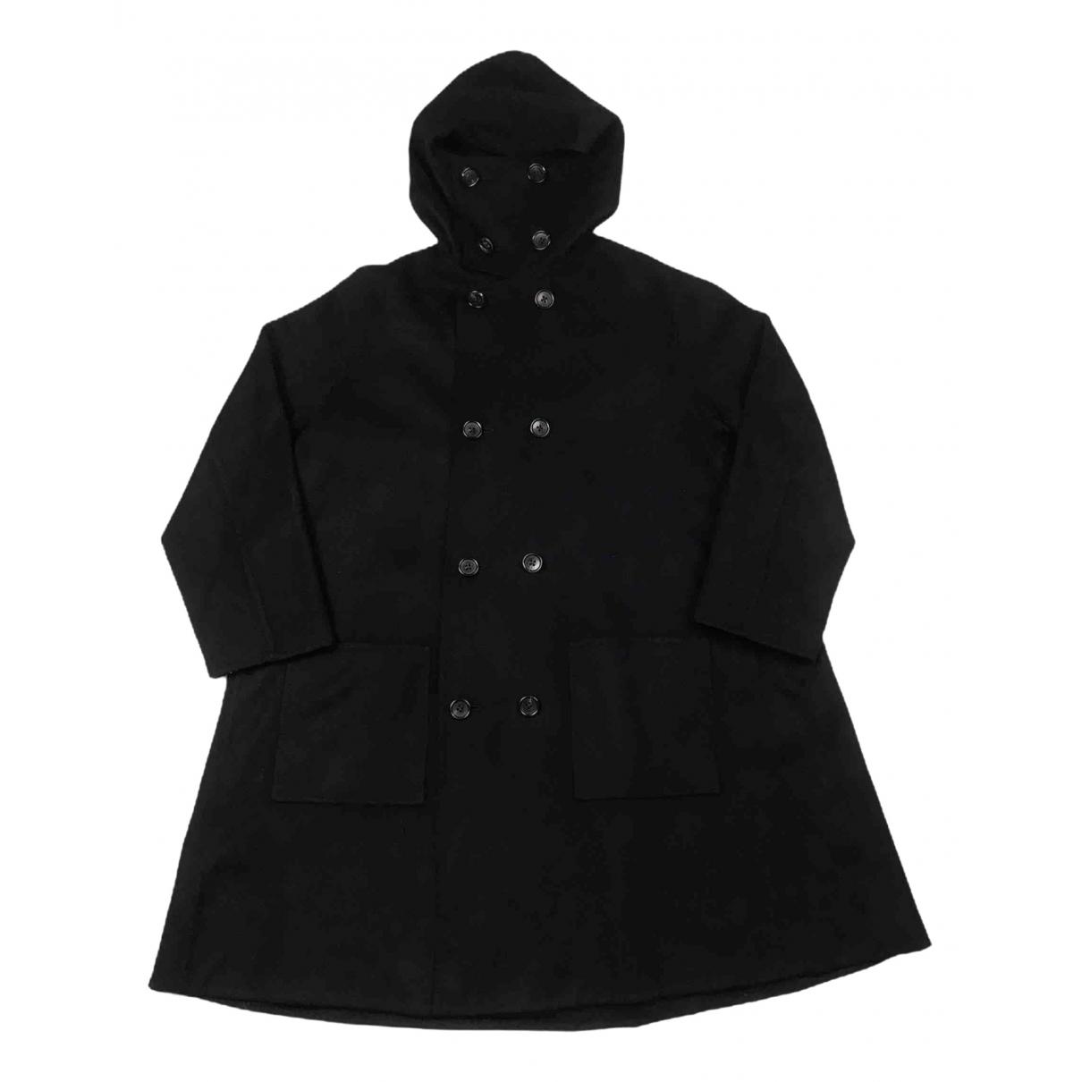 Yohji Yamamoto \N Jacke in  Schwarz Wolle