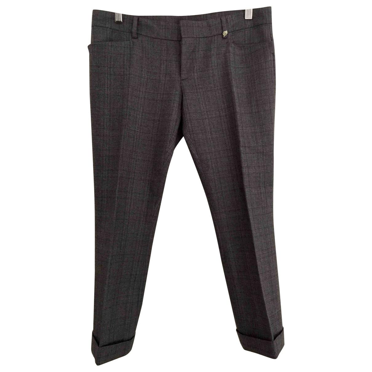 Dsquared2 - Pantalon   pour femme en laine - gris