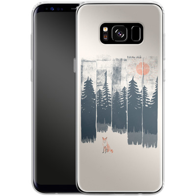 Samsung Galaxy S8 Silikon Handyhuelle - Fox in the wild von ND Tank