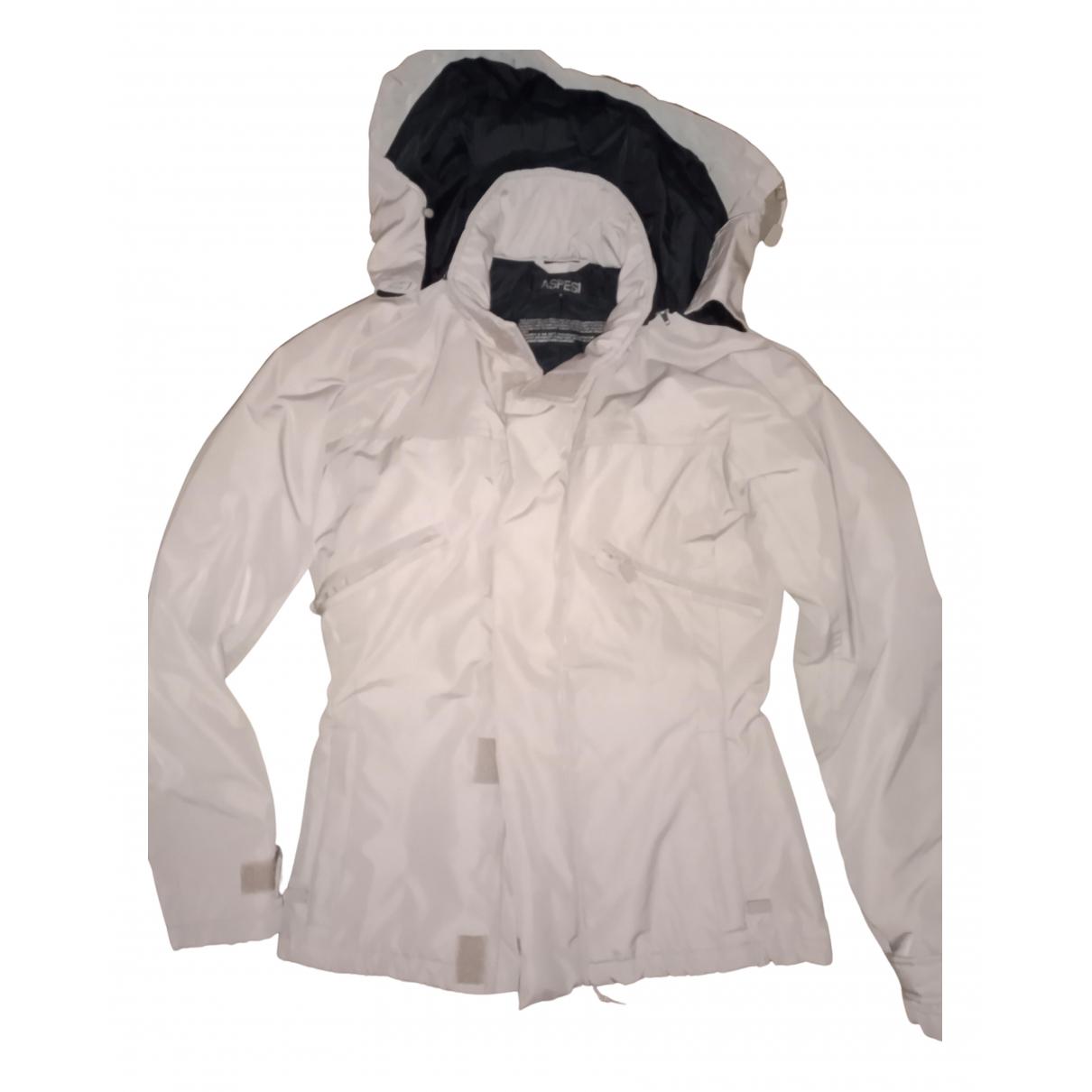Aspesi - Manteau   pour femme en coton - ecru