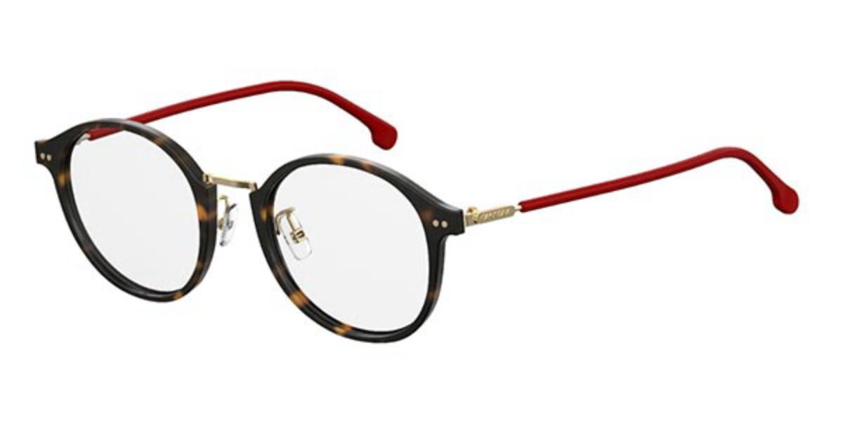 Carrera 160/V/F Asian Fit 086 Mens Glasses Tortoise Size 48 - Free Lenses - HSA/FSA Insurance - Blue Light Block Available