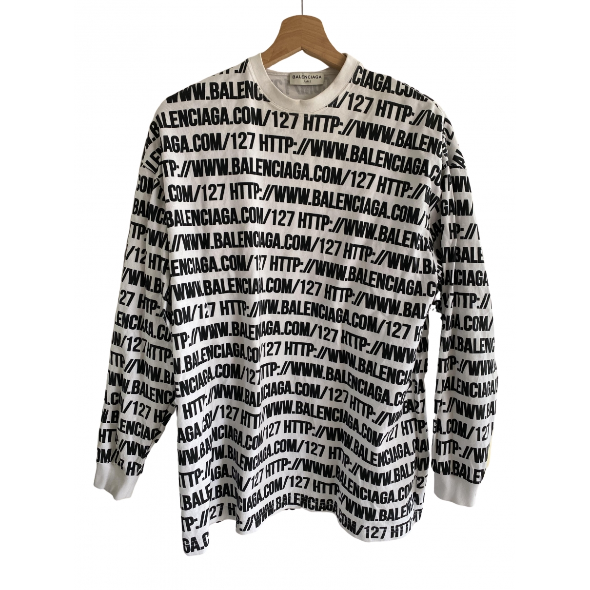 Balenciaga \N Pullover in  Bunt Baumwolle