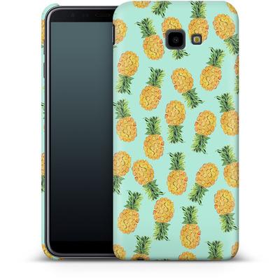 Samsung Galaxy J4 Plus Smartphone Huelle - Pineapple von Amy Sia