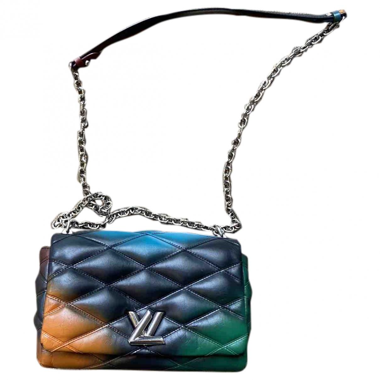 Louis Vuitton - Sac a main Twist pour femme en cuir - multicolore