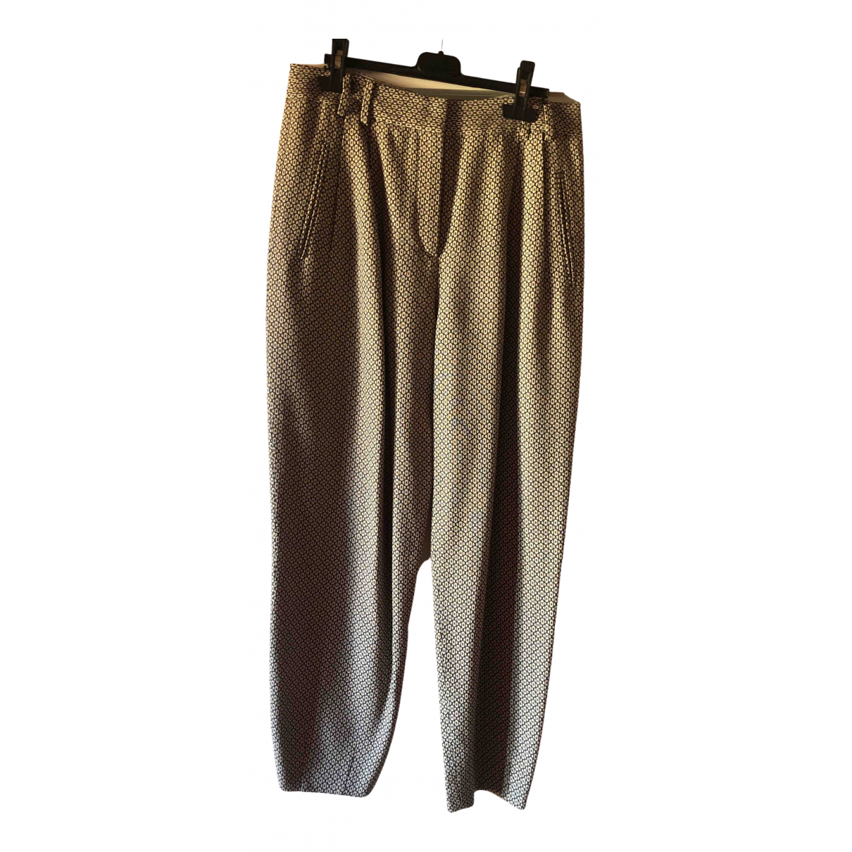 Pantalon zanahoria de Lana Giorgio Armani