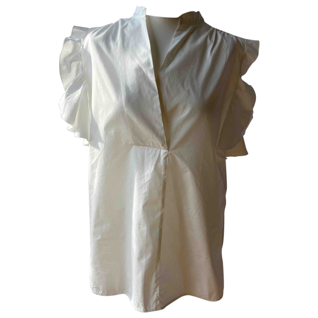 See By Chloé N White Cotton  top for Women 40 FR