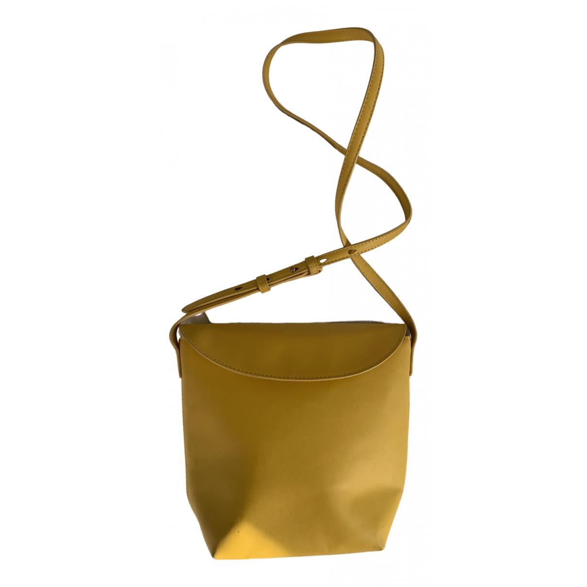 Mango \N Yellow handbag for Women \N