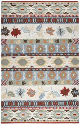 NWDNWD10400040508 Northwoods Area Rug Size 5' X 8'  in