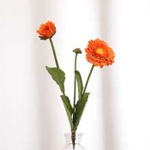 1branch Artificial Flower With 3pcs Head
