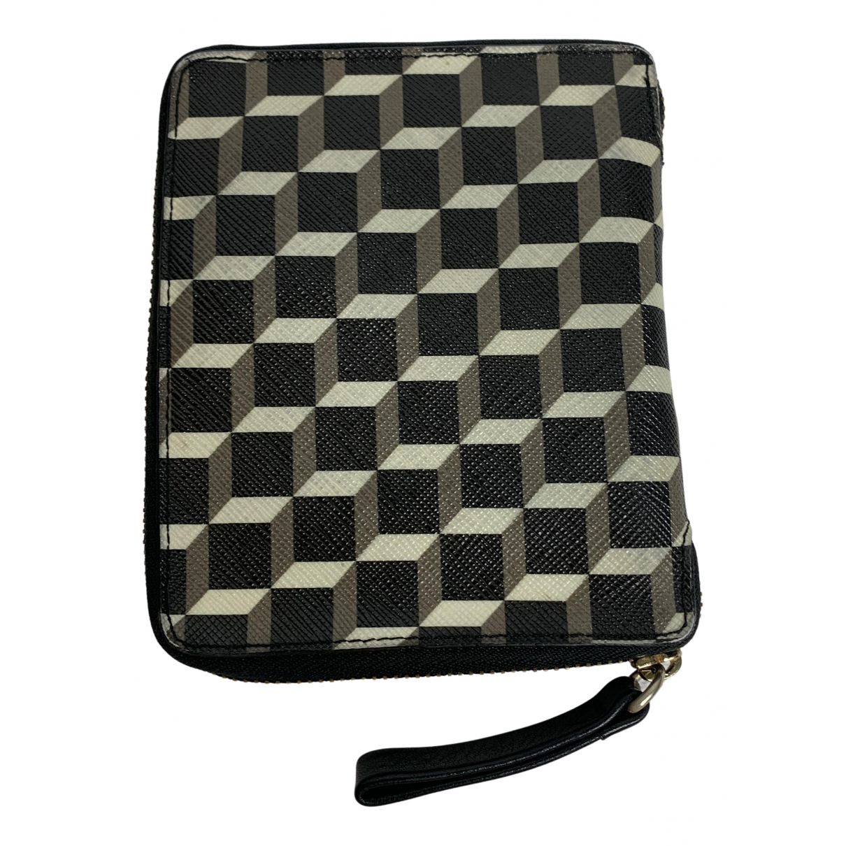 Pierre Hardy \N Khaki Cloth Small bag, wallet & cases for Men \N