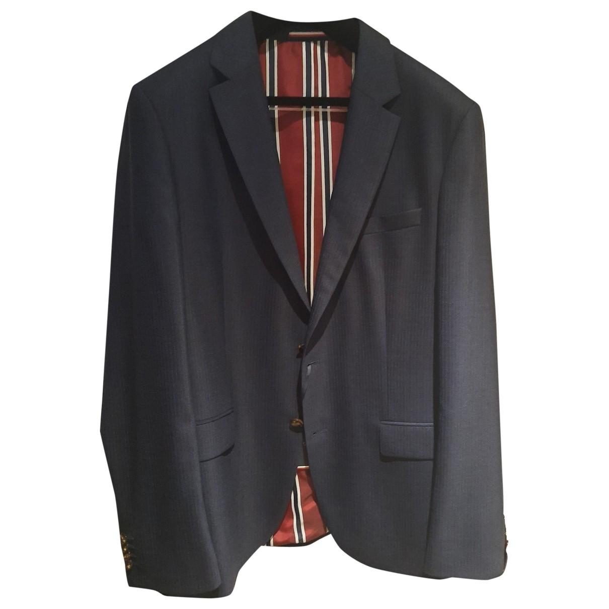 Tommy Hilfiger \N Blue Cotton Suits for Men 52 IT