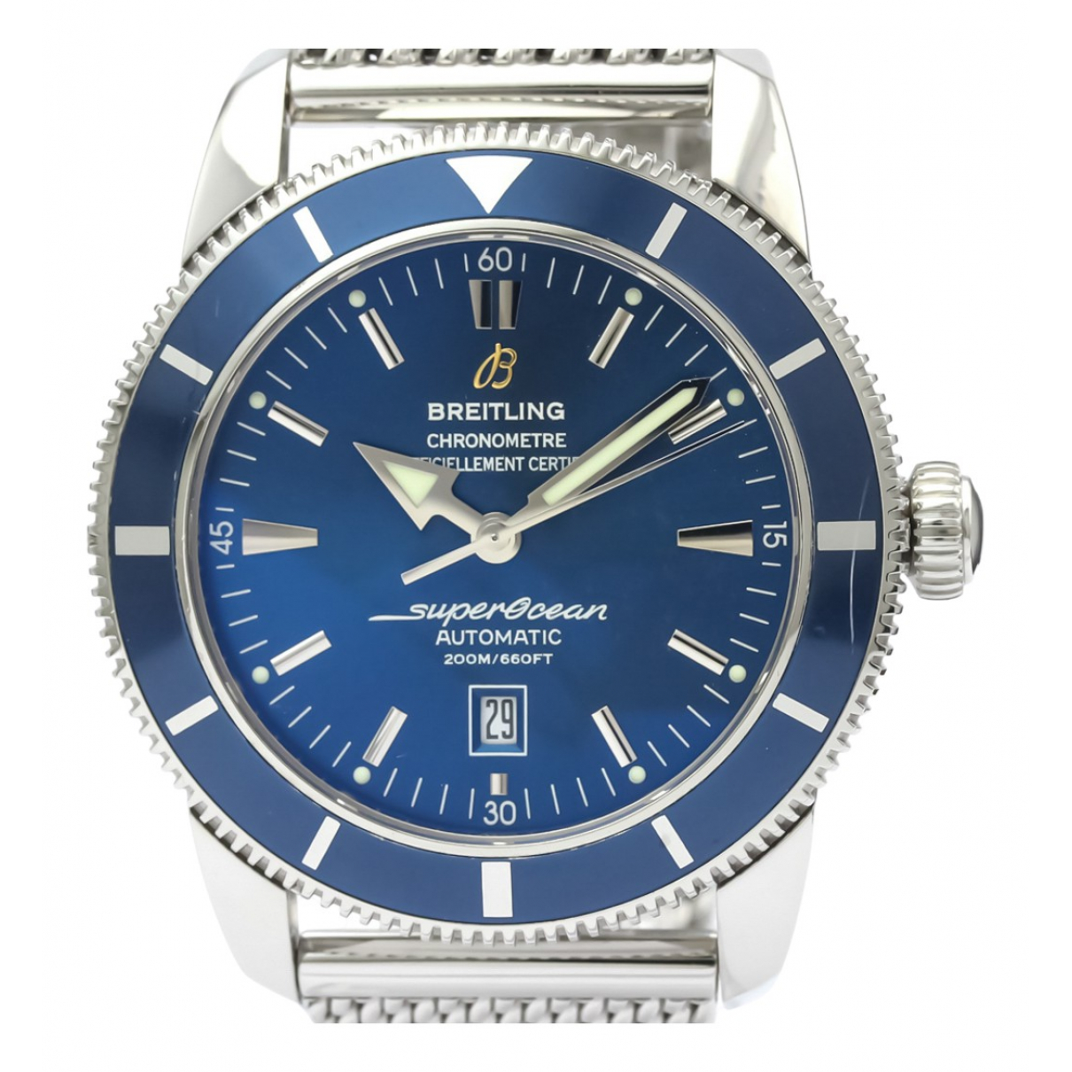 Breitling SuperOcean Blue Steel watch for Men \N
