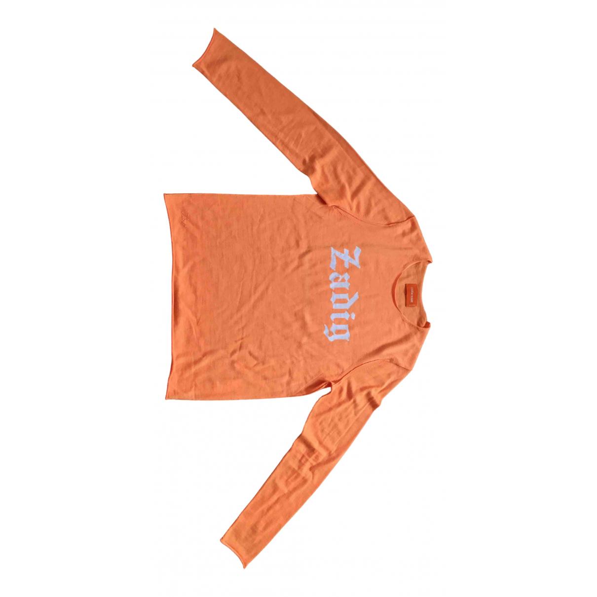 Zadig & Voltaire - Pull   pour femme en laine - orange