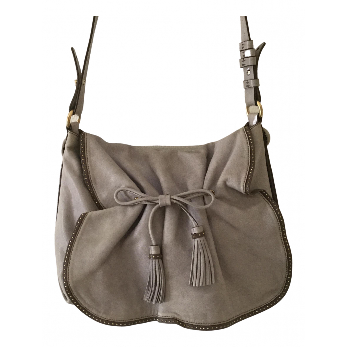 Emporio Armani \N Beige Leather handbag for Women \N