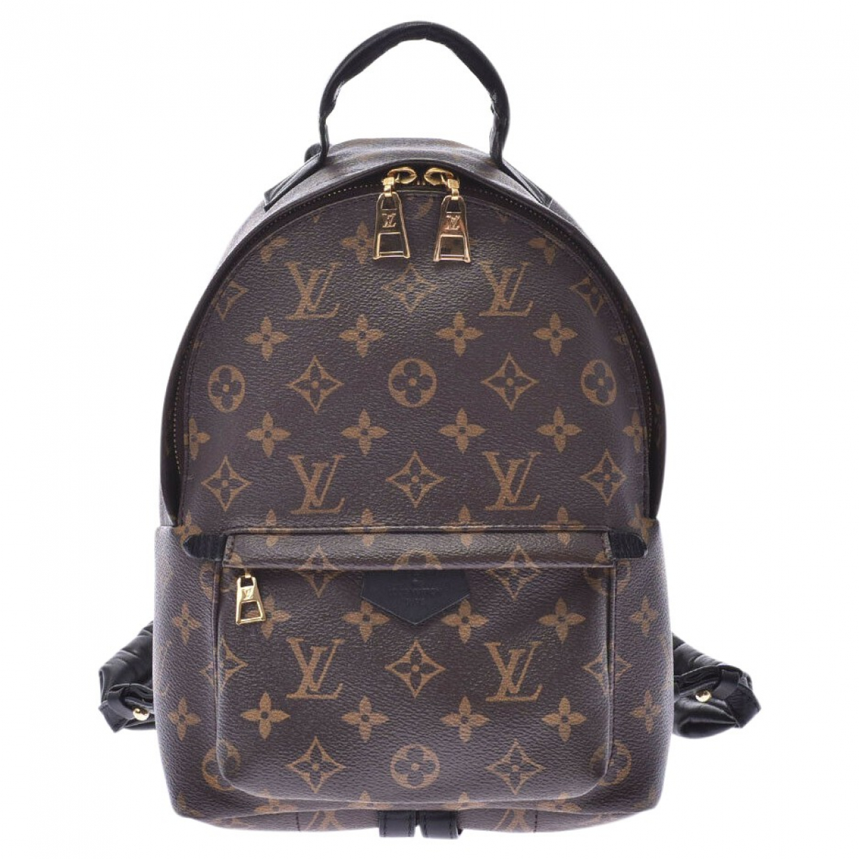 Louis Vuitton Palm Springs Rucksaecke in  Braun Leinen