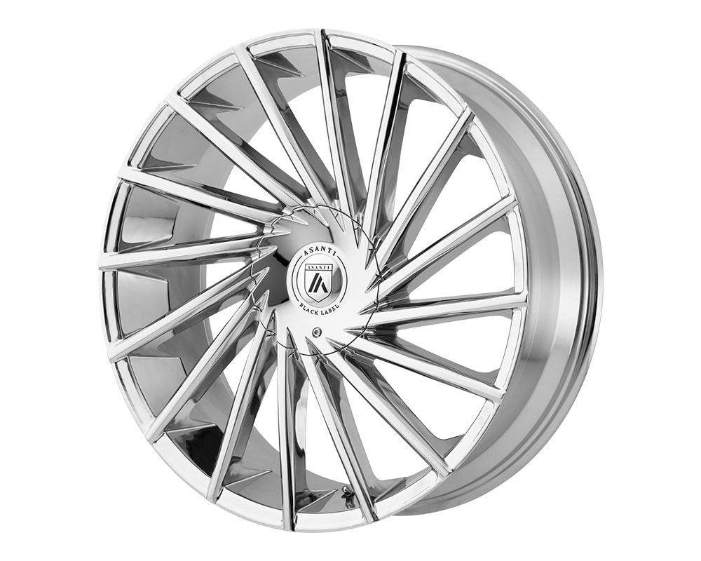 Asanti ABL18-20850030CH Black ABL-18 Matar Wheel 20x8.5 Blank +30mm Chrome
