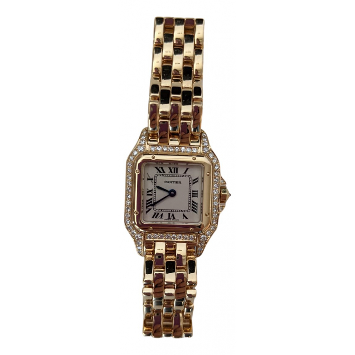 Cartier Panthere Uhr in  Gold Gelbgold