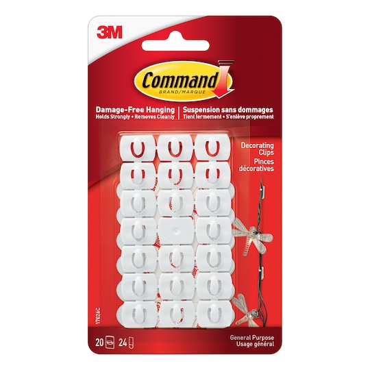 Command™ Mini Decorating Light Clips By 3M | Michaels®