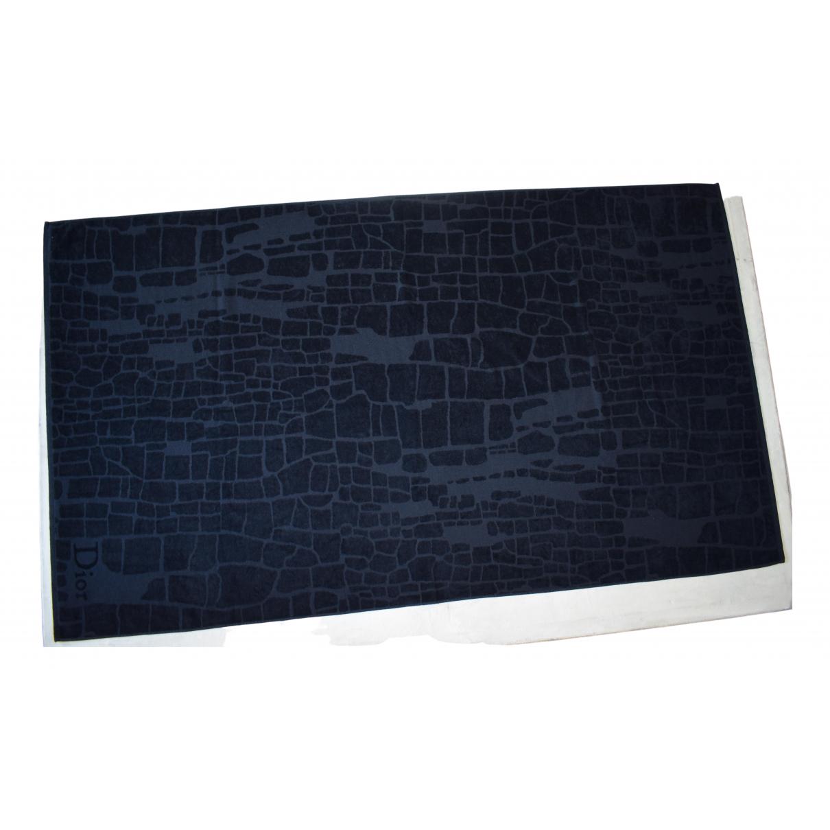 Dior \N Black Cotton Textiles for Life & Living \N